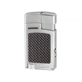 Xikar aansteker Forte - Zilver / Carbon