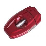 Xikar VX2 Metal V-Cut sigarenknipper rood