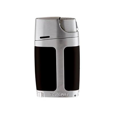 Xikar aansteker dubbel laser ELX zwart