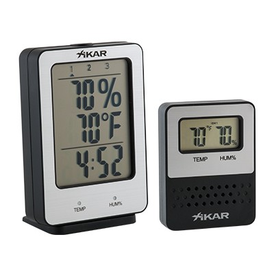 Xikar PuroTemp Wireless hygrometer systeem