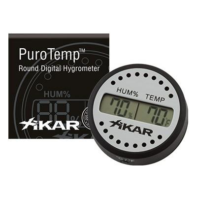 Xikar digitale hygrometer rond